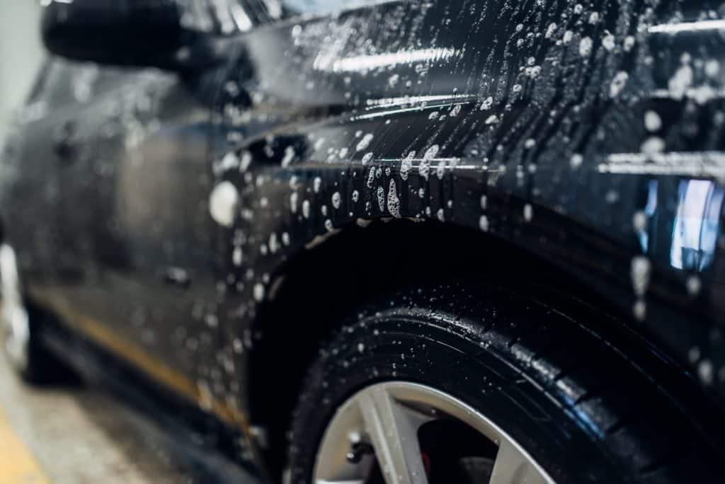 Nettoyage haut de gamme de voitures