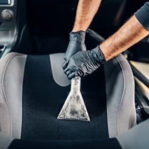 Nettoyage de voiture intérieur